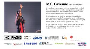 Cayenne Chin